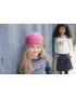 Moodstreet - Girls Skirt Knee Length s - Navy
