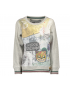 Moodstreet - Boys All Over Print Sweater - Grey Melee