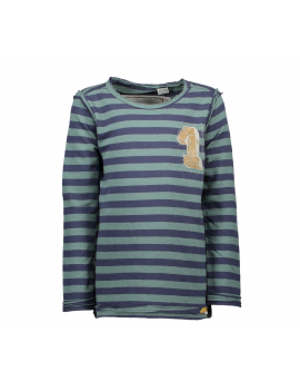 Moodstreet - Boys T-Shirt All Over Print Longsleeve - Cool Green