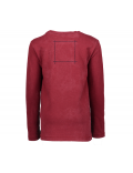 Moodstreet - Boys Longsleeve T-Shirt Headphone - Dark Red