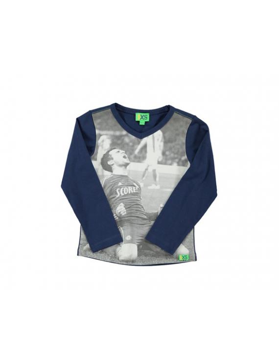 Funky XS - T-Shirt - Goaal Navy