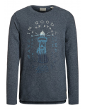 Scotch & Soda Shrunk - Sweater - Navy Melange