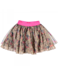 Funky XS - Rok - Mix Mesh Skirt Gold