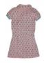 Moodstreet - Girls ss dress ao button - Warm Pink