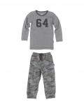 Claesen's - Pyjama - Set - Dark Grey Army