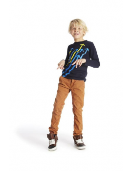 Blue Bay Kids - T-Shirt LS - Aaron Navy