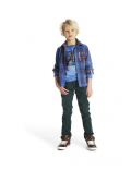 Blue Bay Kids - T-Shirt LS - Adrian Blue