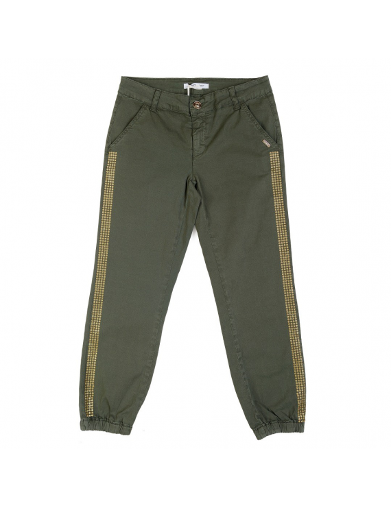 Liu Jo - Broek - Lungo Green Jungle