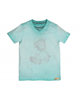 Moodstreet - Boys ss t - shirt animal print - Multi