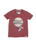Moodstreet - Boys ss t - shirt baseball - Washed Grape