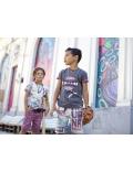 Moodstreet - Boys ao Hauana short - Multi