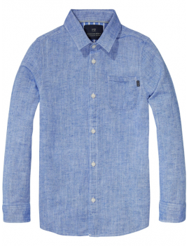 Scotch & Soda Shrunk - Hemd - Denim Blue