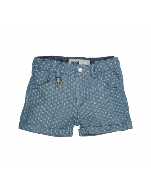 Moodstreet - Girls short - Fancy Denim