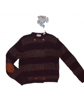 Scotch & Soda R'belle - Cardigan - Dark Brown / Bronze