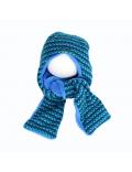 Strass Kids - Knoop Muts (sjaal) - Groen/Blauw