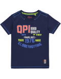 Quapi - T-Shirt - Karel Jeans Blue