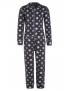 Claesen's - Set - Girls Pyjama - Stripes/Star