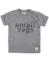 Small Rags - Eddy SS Top - Navy Iris