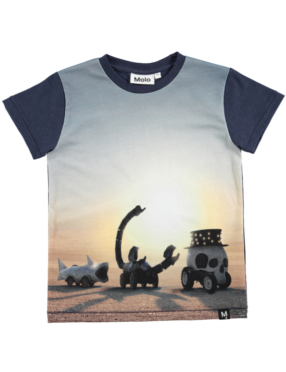 Molo - T-Shirt - Ragnij - Black Rock Desert