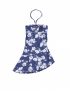 Claesen's - Girls Dress - Navy Roses