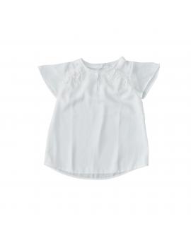 Pauline B - T-Shirt - Top Crepe Volante