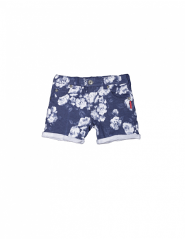 Claesen's - Girls Shorts - Navy Roses