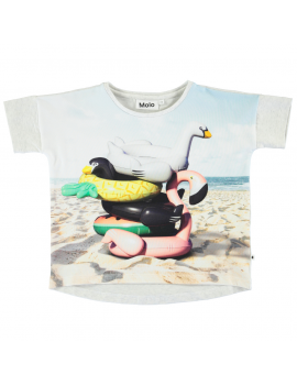 Molo - T-Shirt - Raeesa - Beach Animals