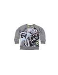 Claesen's - Boys sweater Football - Grey Melee