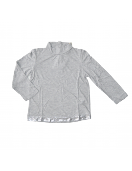 Pauline B - Longsleeve - Remington - Grey-Silver