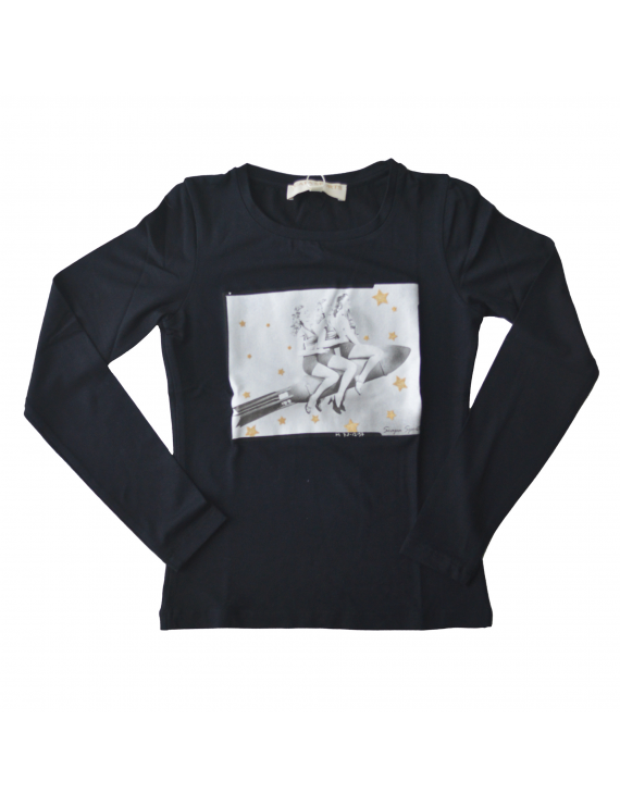 Scapa Sports - Longsleeve - Rosetta Rocket navy