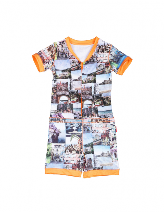 Claesen's - Girls Pyjama - Summer Print