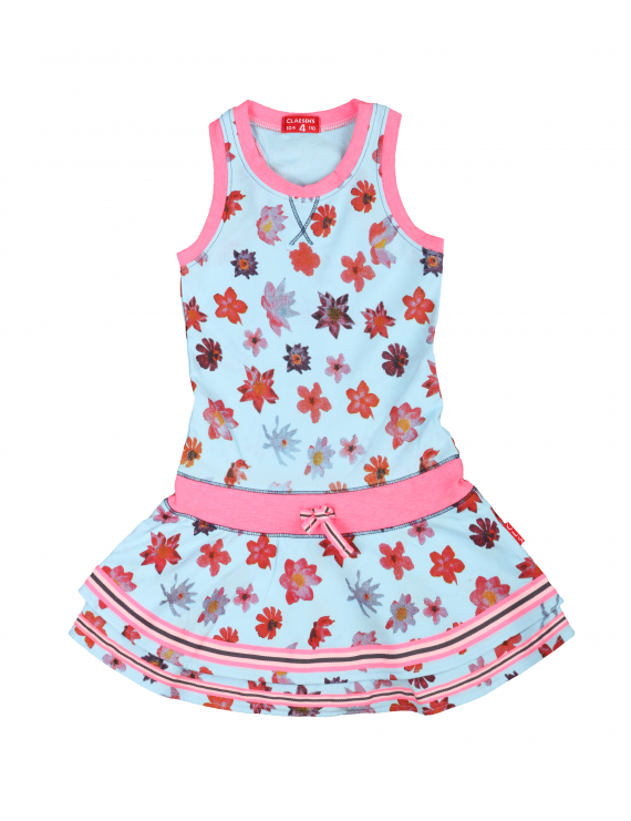 Claesen's - Girls Jurk - Funky Flower
