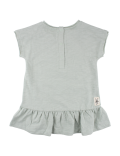 Small Rags - Ella SS Dress - Aqua Gray
