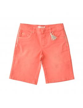 Pauline B - Short Jeans - Kravitz Geranium