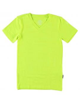 Claesen's - T - shirt  V Neck  -  Pyjama - Neon Yellow