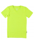 T - shirt V Neck - Pyjama - Neon Yellow