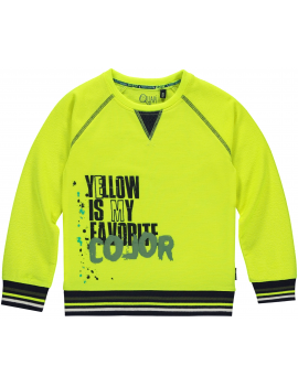 Quapi - Sweater - Lincon - Neon Yellow