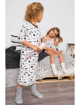 Claesen's - Girls Pyjama - Moustache