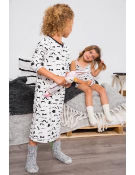 Claesen's - Girls Pyjamas - Moustache