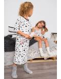 Claesen's - Mädchen Pyjamas - Moustache