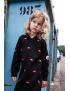 Claesen's - Dress - Lips print / Black