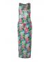 Retour - Long Dress - Febe Fuchsia