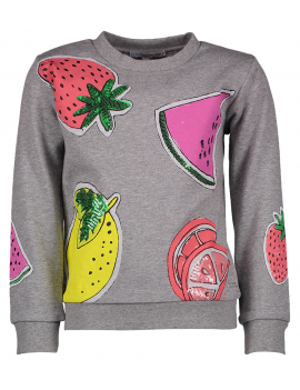 Blue Bay - Sweater - Fruit - Grijs