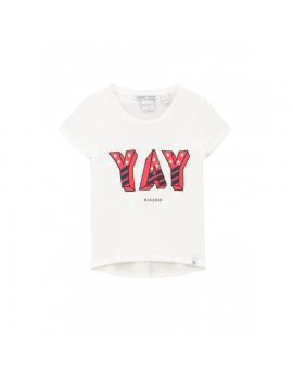 Nik & Nik - T-Shirt - Lyla - Off White
