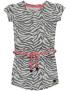 Quapi - Jurk - Grey Zebra