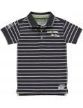 Quapi - Polo - Sander - Grey Stripe