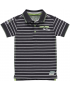 Quapi - Polo - Sander - Grey Stripe