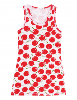 Claesen's - Girls Singlet Dress - Cherries
