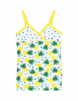 Claesen's - Girls Singlet - Pineapple Dots