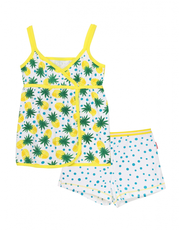 Claesen's - Girls Baby Doll - Pineapple Dots